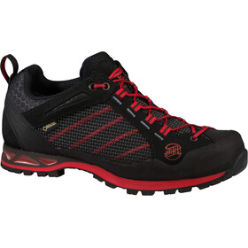 Hanwag Makra Low GTX - Chaussures Homme - rouge/noir